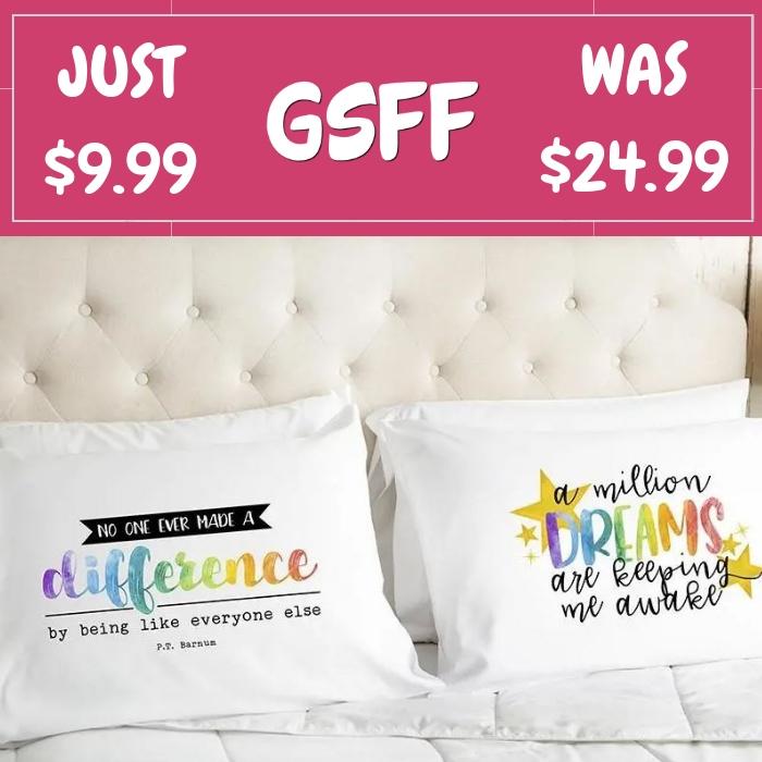 Dreamer Pillowcases