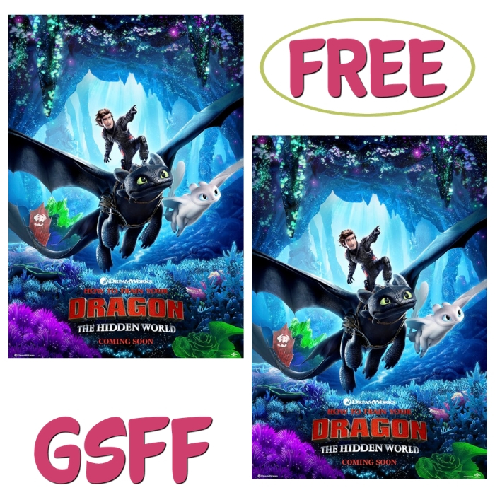 FREE $10 Off How To Train Your Dragon Movie Tickets!