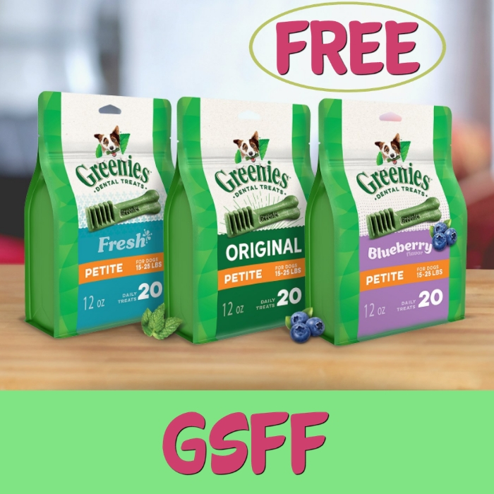 FREE $10 Off Greenies Products At Petco!