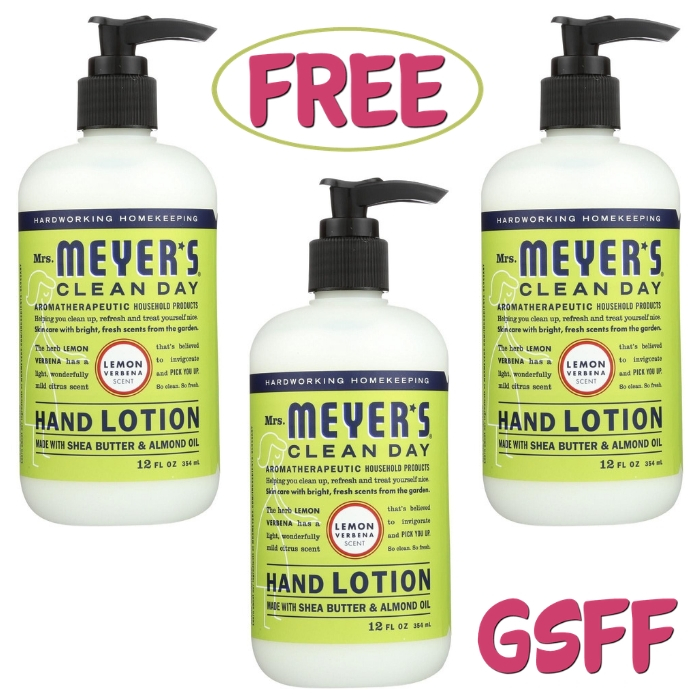 FREE Mrs. Meyer's Hand Soap At Target!