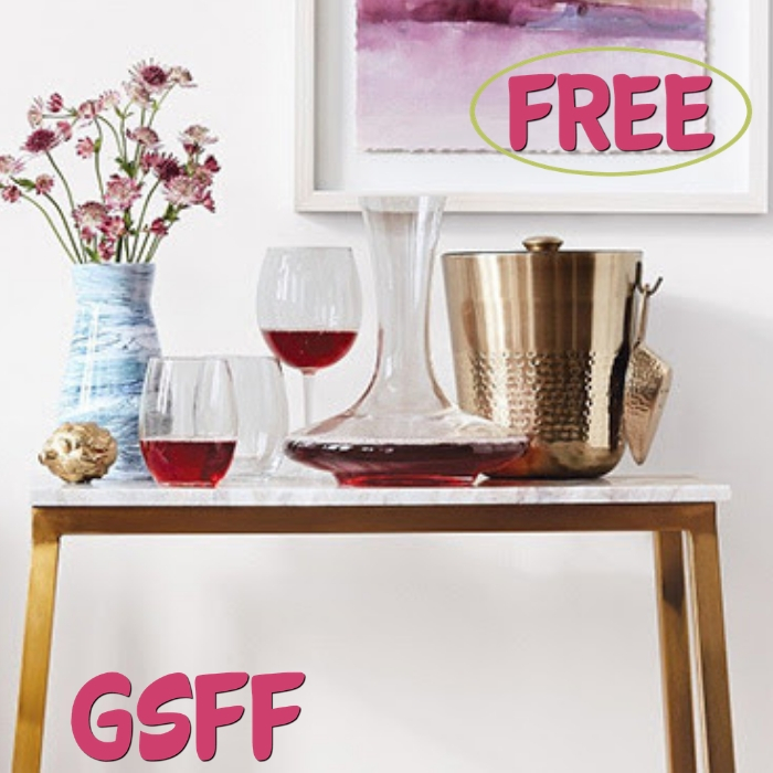 FREE Stemless Wine Glasses!