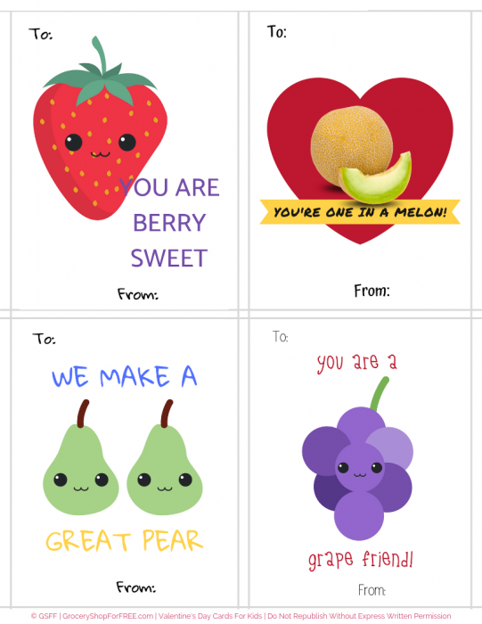 Make Valentine's More Special With These Valentine's Day Cards Printable For Kids!