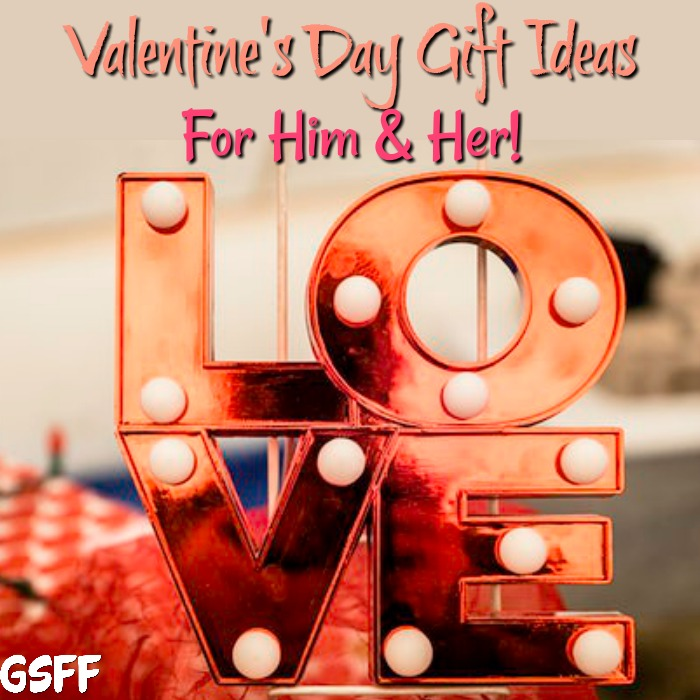 Valentine's Day Gift Ideas For Him & Her !