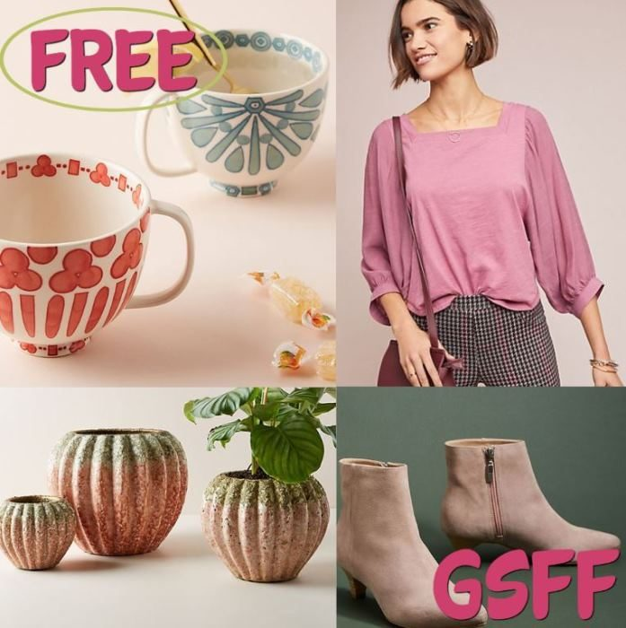FREE $10 To Spend On Anything From Anthropologie!