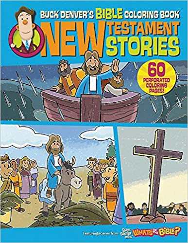 Bible Coloring Book: New Testament Stories