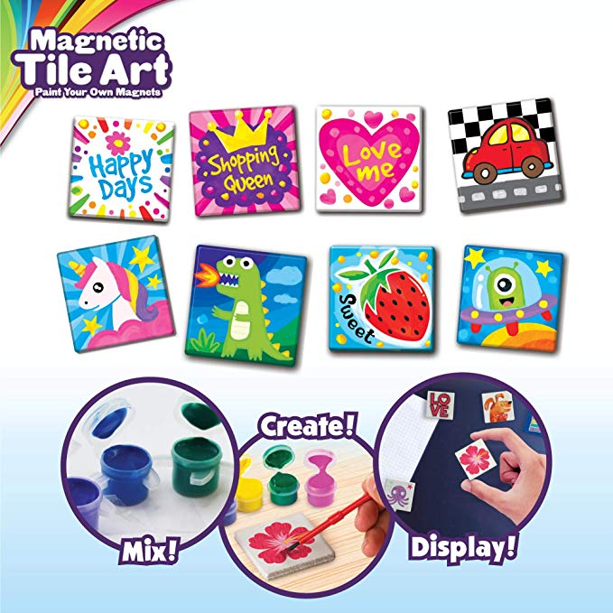 Creative Kids DIY Magnetic Mini Tile Art