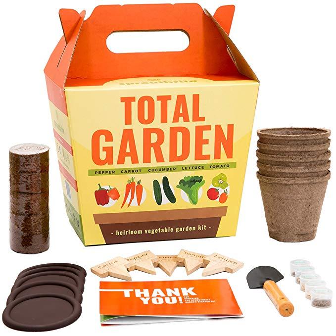 Sproutbrite Vegetable Garden Starter Kit