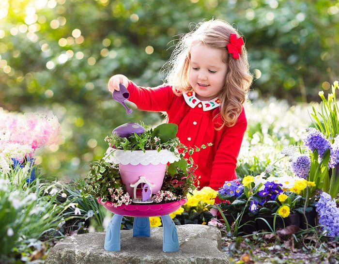 My Fairy Garden Kit Kids Gardening Set