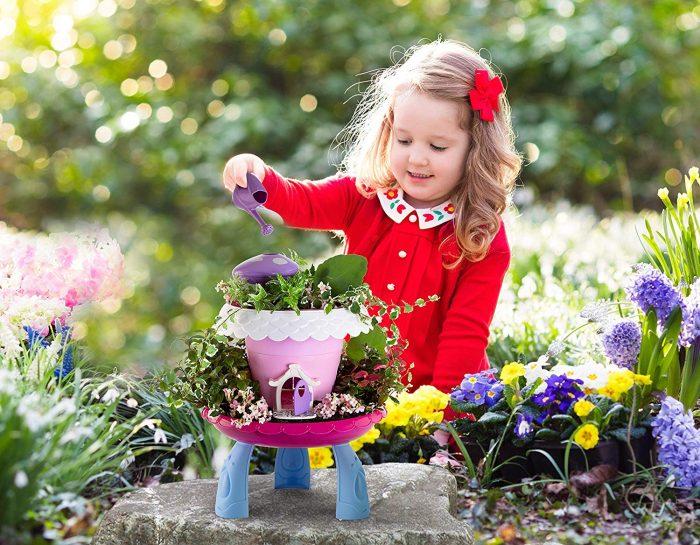 My Fairy Garden Kit Kids Gardening Set