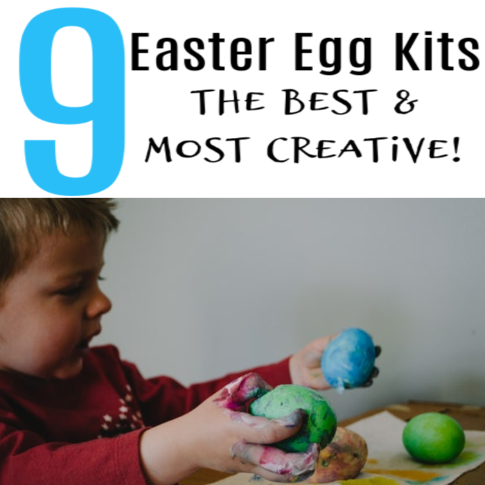 9 Easter Egg Kits! The Best & Most Creative!