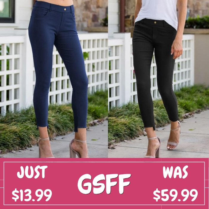 Step-Hem Jegging Just $13.99! Down From $60!