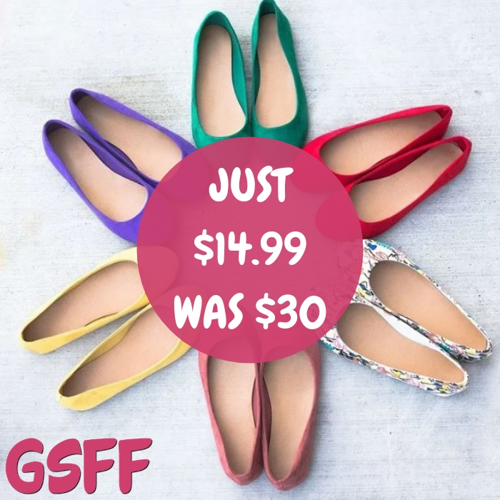 Spring Flats Just $14.99! Down From $30! Shipped!