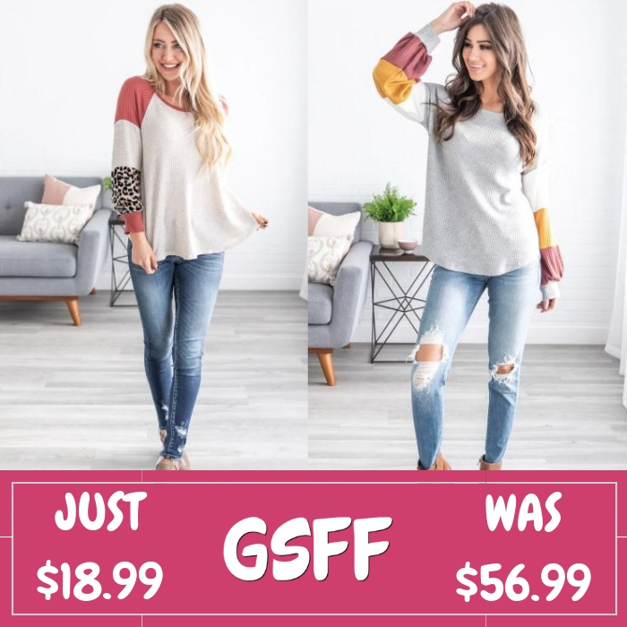 Bubble Sleeve Tunics Just $18.99! Down From $57! Shipped!