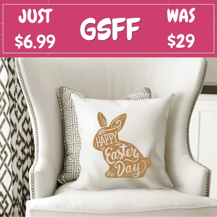 Spring Pillow Covers Just $6.99! Down From $29!