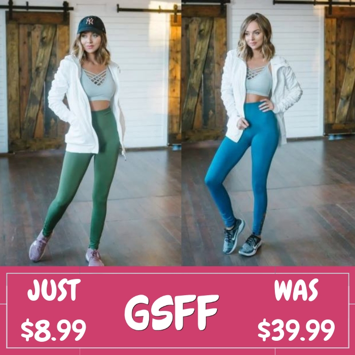 High Waist Leggings Just $8.99! Down From $40!