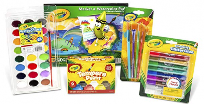 Crayola Kid's Washable Paint and Craft Set