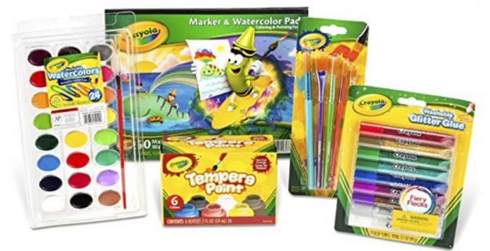 Crayola Kid's Washable Paint and Craft Set
