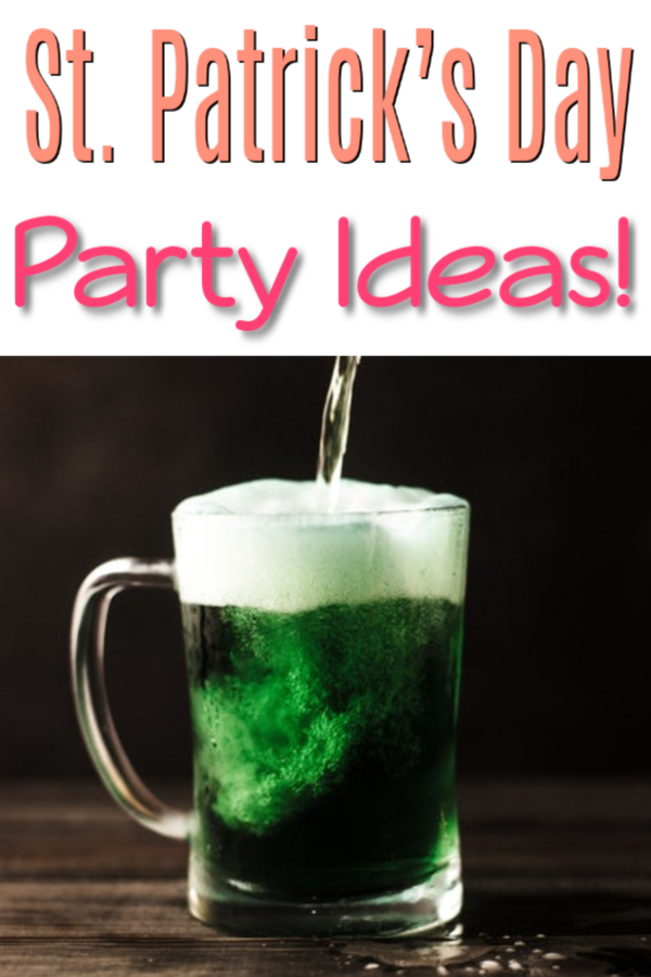 Any reason to celebrate & make memories, right?! What other day of the year do you get to drink green beer? Check out these St. Patrick's Day Party Ideas!