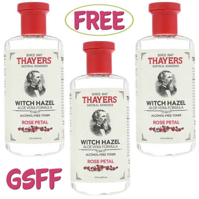 FREE Thayer's Witch Hazel Toner From Target!