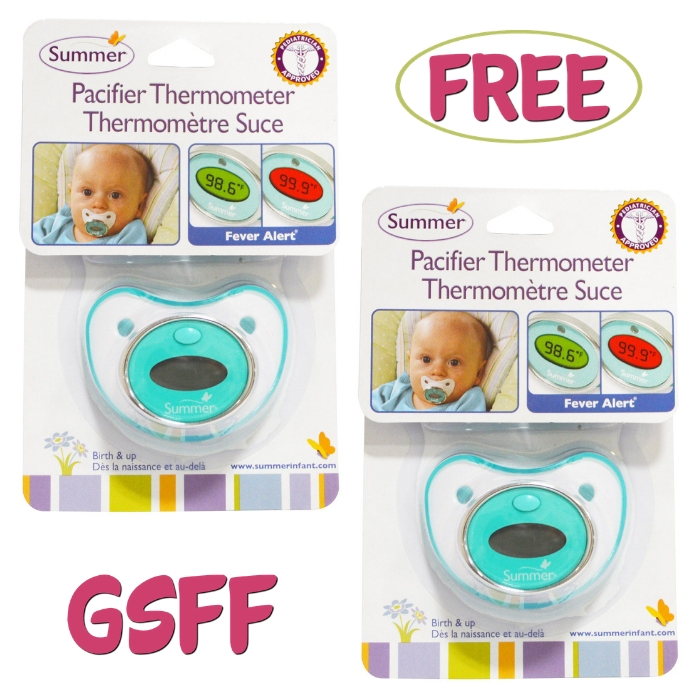 FREE Infant Pacifier Thermometer From Walmart!