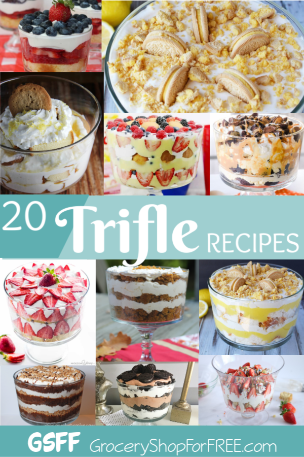 A Trifle is a gorgeous & easy to make recipe to share with family & friends or to take with you to any gathering!  They make a stunning addition to any table!