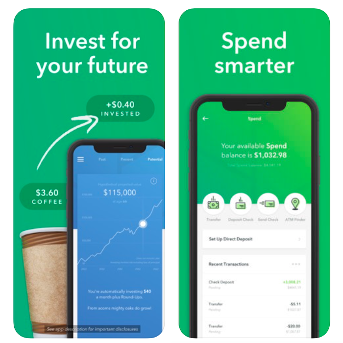 Acorns App Tutorial