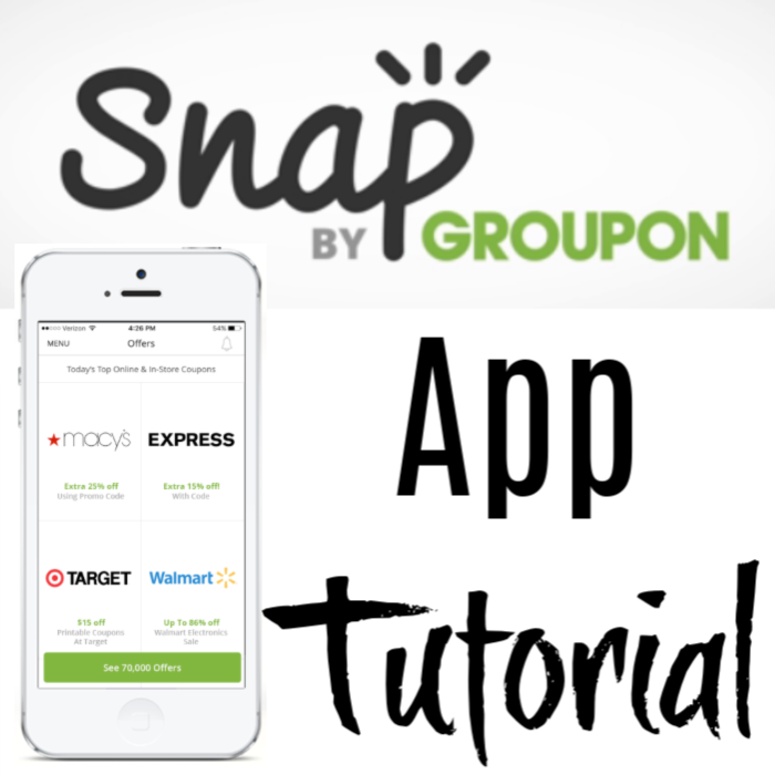 Have you tried Snap, yet?  If not, you can get started now with this Snap App By Groupon Tutorial