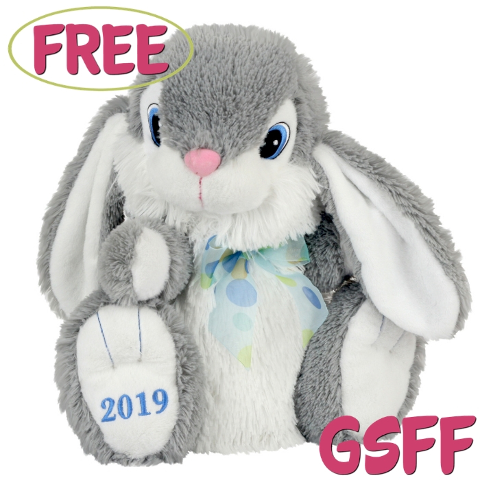 FREE Easter Bunny Plush From Walmart!