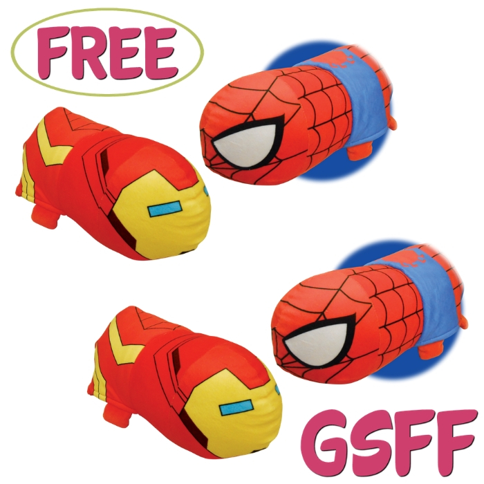 FREE Iron Man To Spider-Man Flipazoo Plush From Walmart!