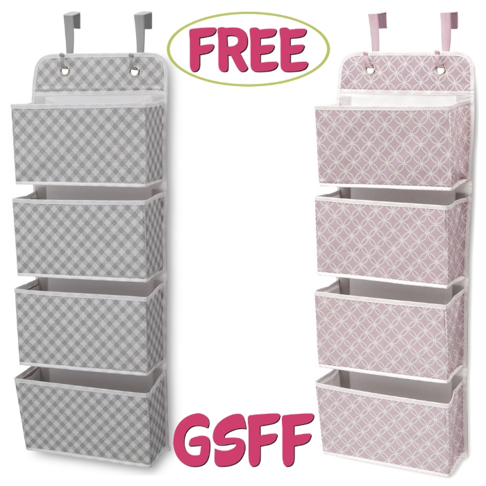 FREE Nursery Wall Organizer From Walmart!