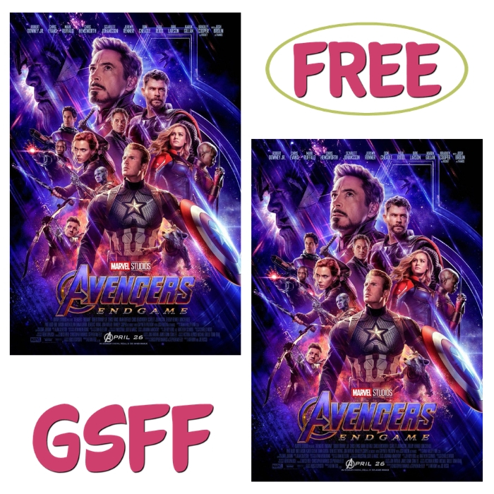 FREE $10 Off Avengers: End Game Movie Tickets From Fandango!