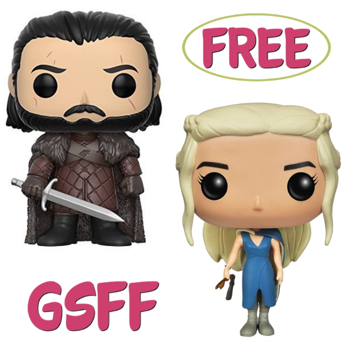 FREE Game Of Thrones Funko Pop From Walmart!