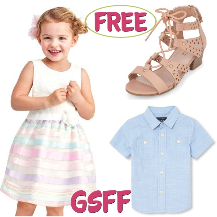 FREE $10 To Spend From The Children's Place!