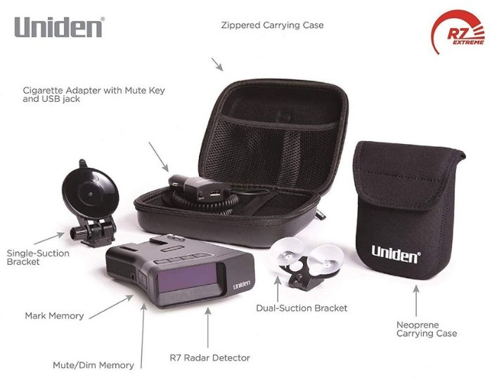 Always Ensure That You Are Driving Safely With A Uniden R7 Radar Detector