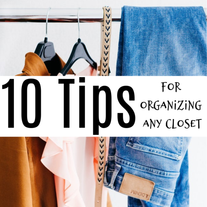 10 Closet Organization Ideas