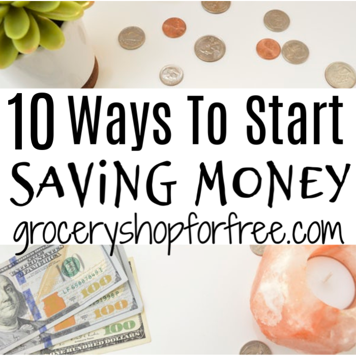 If you're looking for ways to start saving money, look no further.  This post will get you started on the right track with these 10 ways to save money.