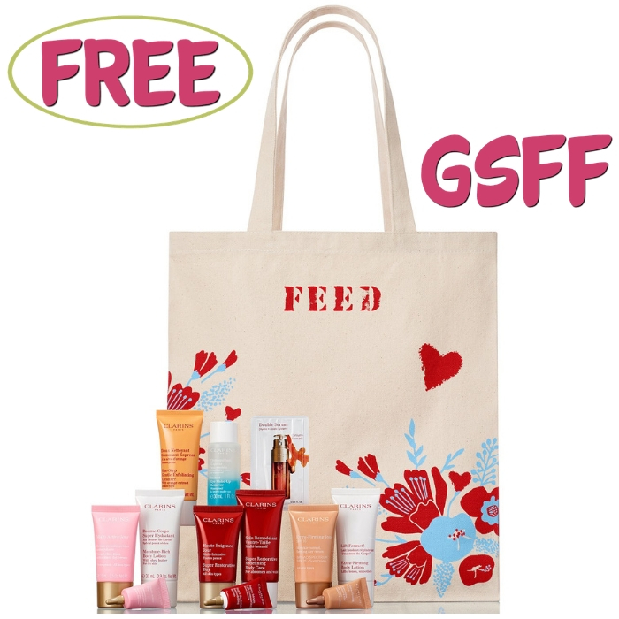FREE 7-Piece Skin Care Gift With $75 Clarins Purchase!