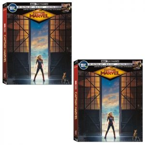 Watch Captain Marvel At The Comforts Of Your Home With A Collectible SteelBook Format