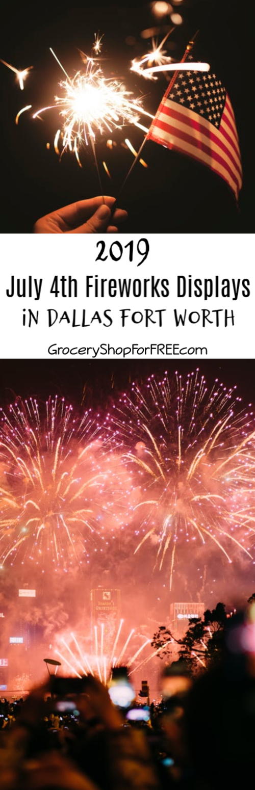 Looking for 4th of July 2019 Fireworks displays?  Live in DFW? From parades to lake parties, & ballgames to picnics, all with fireworks, here's your list!