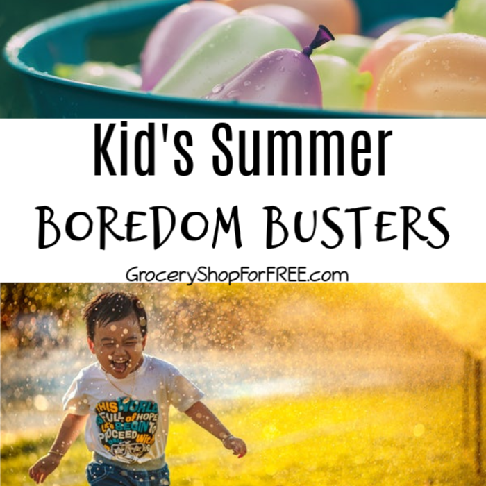 """""""I'm Bored"""" the words that strike anxiety and exasperation in every mother's heart.. Summer is the worst, you can hear it almost every day, for 3 months, that's 104 days... Check out these Summer Boredom Busters and wipe those words out of your kid's mouths this summer."""