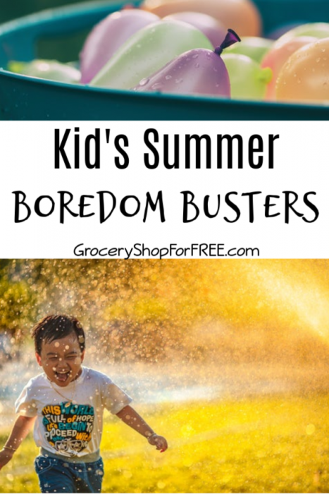 Kid's Summer Boredom Busters