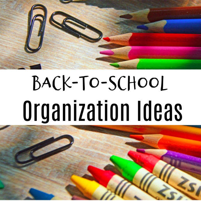 Are you on the hunt for Back-to-School Organization Ideas?  Look no further, we have you covered, from breakfast to bedtime and everything in between.