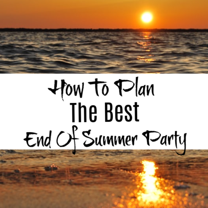 Are you wanting to plan an end of summer party but don't know where to start? We have you covered, just click through to get started.