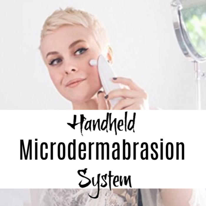 Want younger, smoother, even skin at home? Try this Handheld Microdermabrasion System from MiniMD!