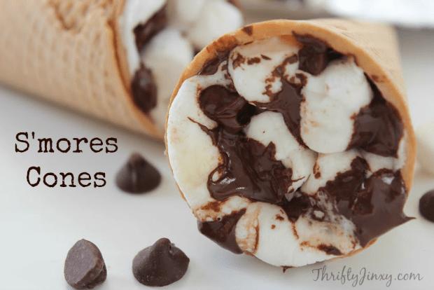 S';mores Cones