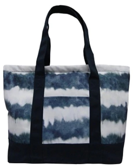 "Aquarius Canvas Tote Bag, 14""H x 15""W x 5""D, Printed - $17.49"