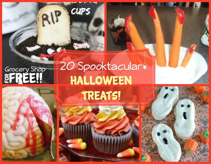 20 Spooktacular Halloween Treats