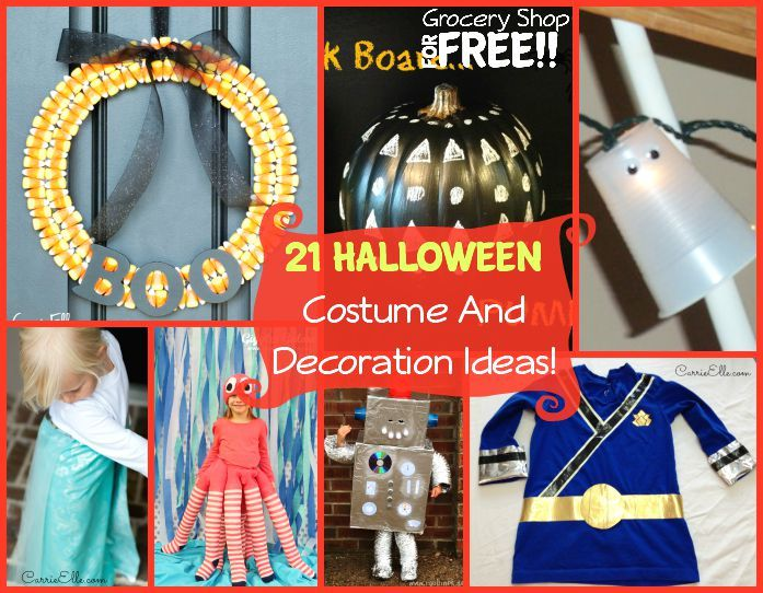 21 Halloween Costume And Decoration ideas