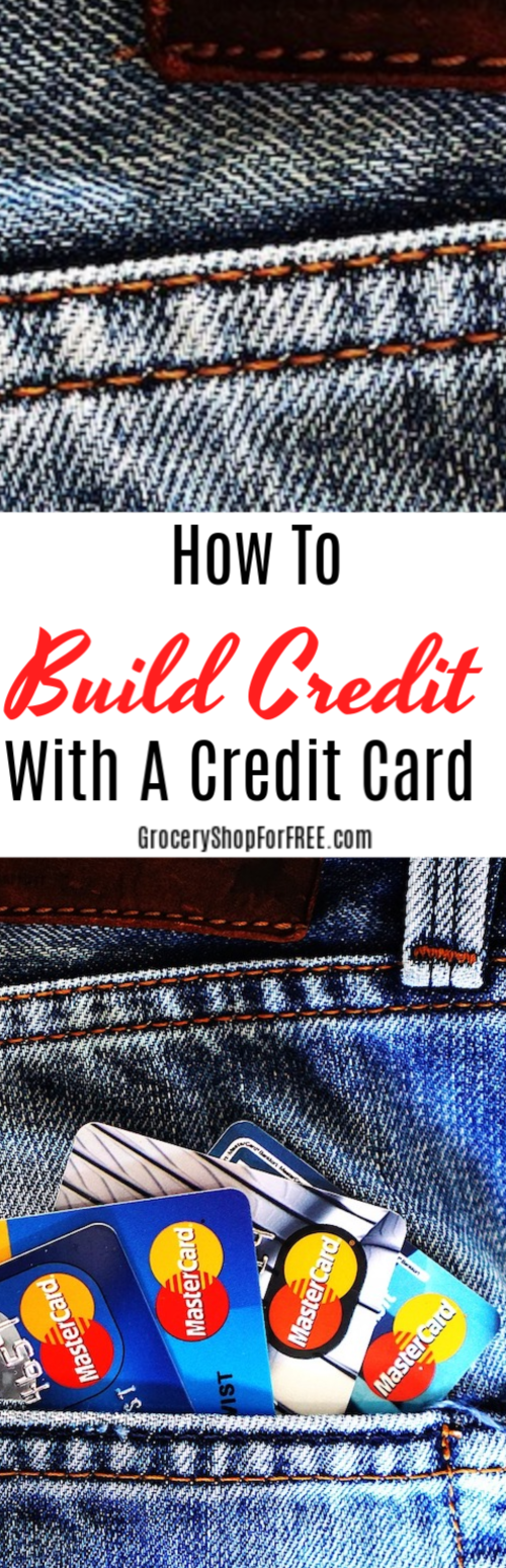 There are many ways you can build credit with a credit card. If you want to get started, just click through and we'll show you how.