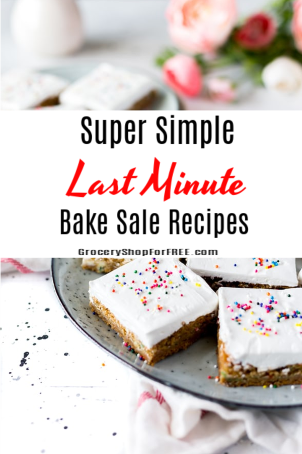 Need some super simple bake sale ideas? These easy bake sale recipes are some of the best fundraising bake sale recipes when there's a need for baked goods for sale . If you have a bake sale fundraiser we have you covered. These recipes for bake sales will make you the hero of the bake sale fundraiser!
